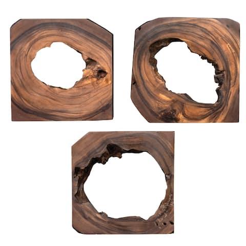 Uttermost Adlai Wood Wall Arts (Set of 6)
