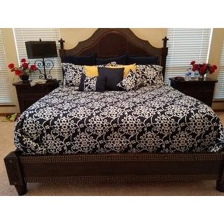 Gracewood Hollow Cornwell Navy 10-piece Comforter Set