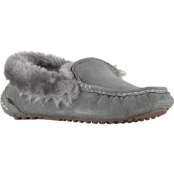 ca1321af617911 Shop Lamo Women s Aussie Moccasin Slipper Charcoal - Free Shipping ...
