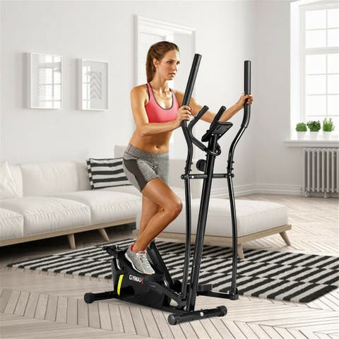NewAge Magnetic Elliptical Machine Trainer Smooth Quiet Driven for Home Gym Exercise