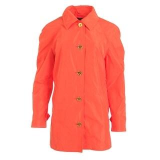 Lauren Ralph Lauren Womens Linded Long Sleeves Basic Coat
