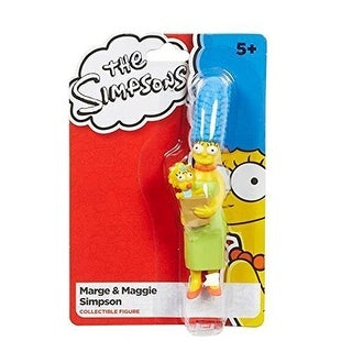 "The Simpsons 4""  Marge & Maggie Simpson Collectible Figure by Character Options - multi"