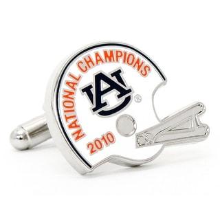 2010 Auburn Tigers National Champions Cufflinks - Multicolored