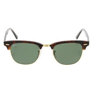 Ray-Ban RB3016 49mm Clubmaster Sunglasses (Tortoise Frame/G-15 Lens)