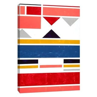 """PTM Images 9-108455  PTM Canvas Collection 10"""" x 8"""" - """"Voyage 2"""" Giclee Abstract Art Print on Canvas"""