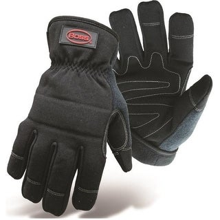 Boss 5207L Windproof and Water Resistant Glove, Large