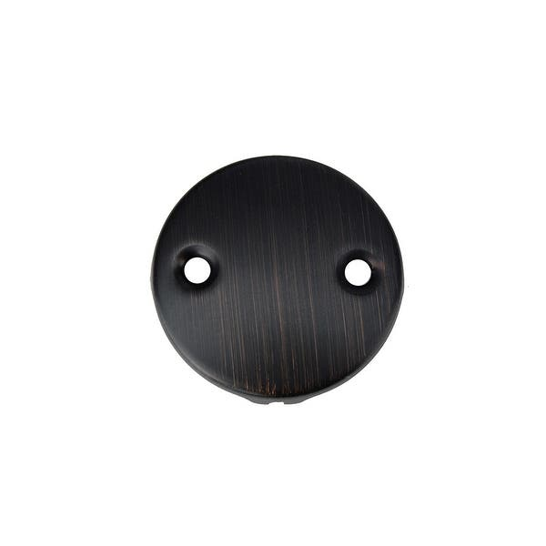 Premier Copper Products D 302orb Tub Drain Trim And Two Hole Overflow Cover For Bath Tubs Oil Rubbed Bronze Overstock 6394473