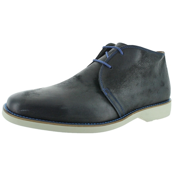 Donald J Pliner Edio Men's Leather Chukka Boots