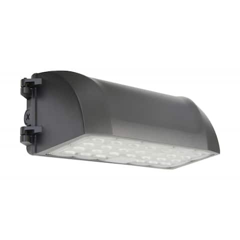 80 Watt Full Cutoff LED Wall Pack CCT Selectable 9600-10K Lumens DLC - 80 Watt