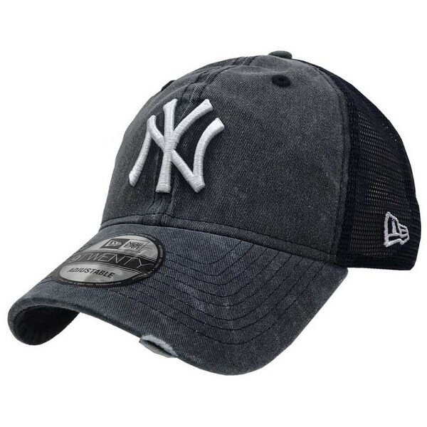big sale 99632 2af2e Shop New Era 2019 MLB New York Yankees Cooperstown 34  Baseball Cap Hat  Tonal Washed - Free Shipping On Orders Over  45 - Overstock - 27093350