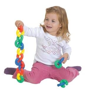 Childcraft Toddler Manipulatives Easy Grip C-Links, Set of 40