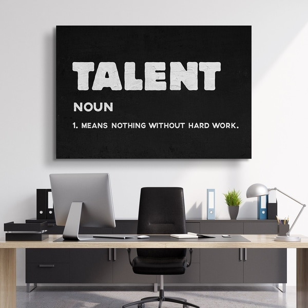 IKONICK Talent Canvas Art