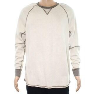 Tommy Bahama NEW Oatmeal Beige Mens Size XL Longsleeve Crewneck Sweater
