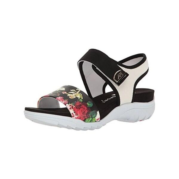 Anne Klein Sport Womens Grassland Sport Sandals Open Toe Breathable