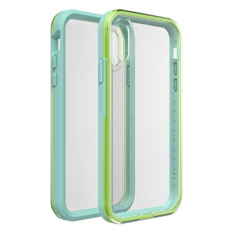 Lifeproof SLAM SERIES Case for iPhone XR - Sea Glass - Clear