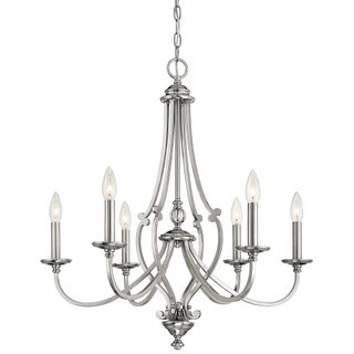 Minka Lavery 3336-84 6 Light One Tier Chandelier from the Savannah Row Collection