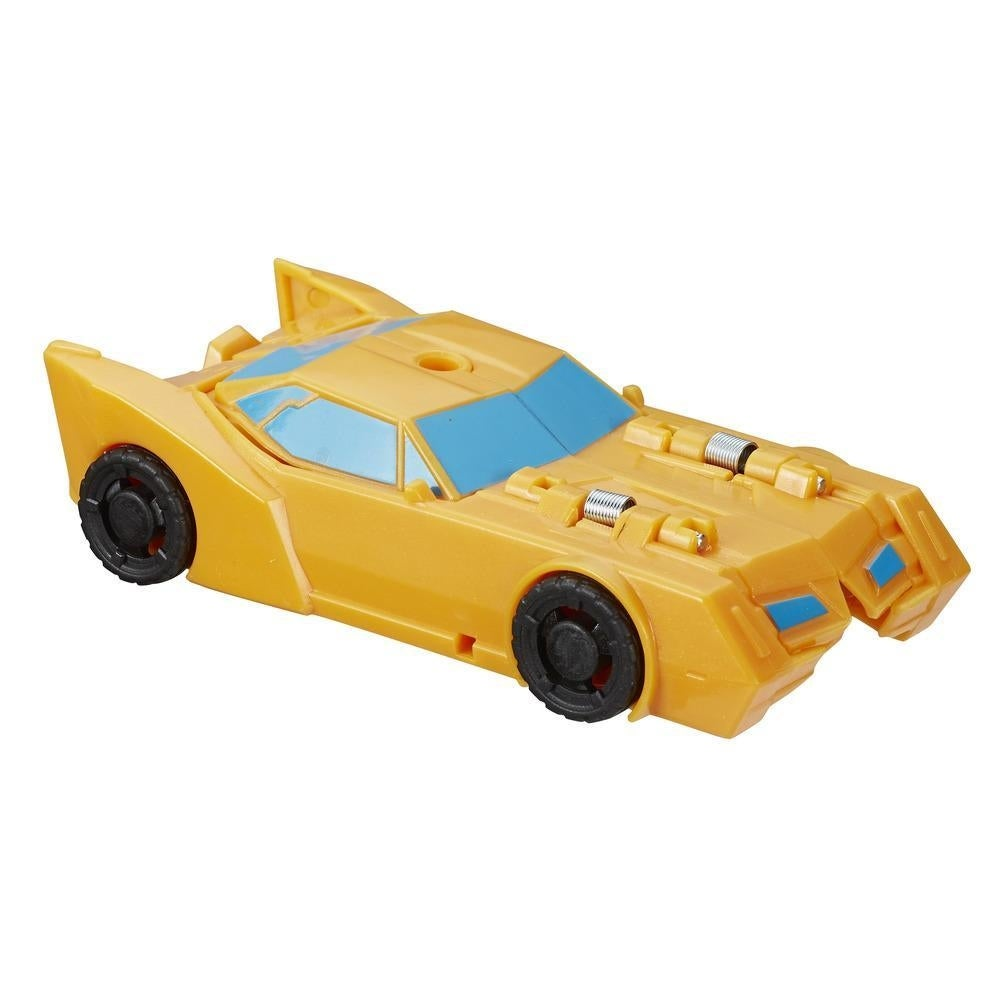 Transformers Cyberverse 1-Step Changer Bumblebee Brand New /& Ships Free!