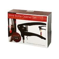 Bulk Buys OL368-2 Wine Bottle Opener Set - 2 Piece