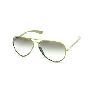 Ray-Ban Aviator Liteforce Sunglasses Green - Small