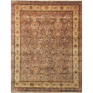 Safavieh Couture Hand-knotted Ganges River Alexa Traditional Oriental Wool Rug with Fringe