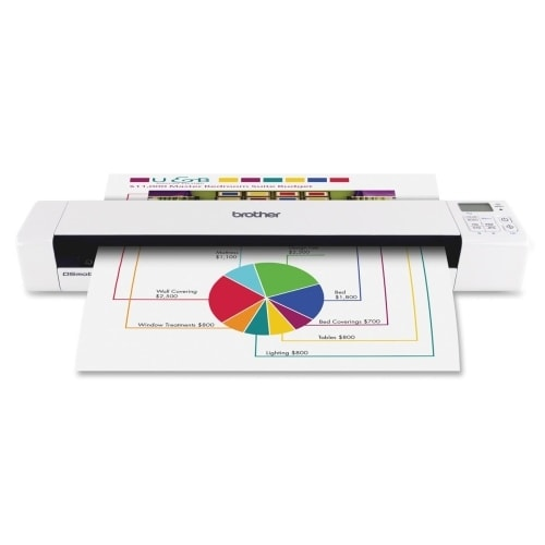 """""""Brother DS-820W Brother DSMobile DS-820W Sheetfed Scanner - 600 dpi Optical - 24-bit Color - 8-bit Grayscale - 8 - 8 - USB"""""""
