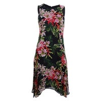 f390d5104fe Shop Tommy Hilfiger Women's Coin TOSS Chiffon Long Dress, Periwinkle ...