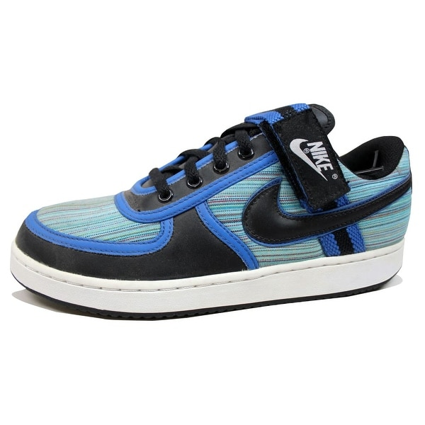 Nike Men's Vandal Low Black/Black-Varsity Royal-Rainbow 316432-001 Size 9