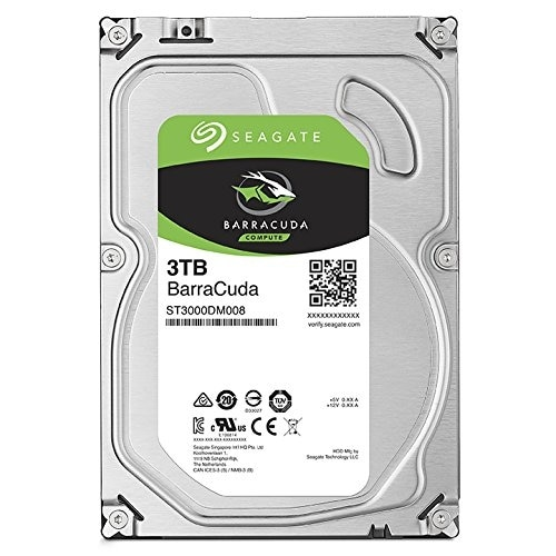 "Seagate St3000dm008 3Tb Barracuda Sata 6Gb/S 64Mb Cache 3.5"" Internal Hard Drive"
