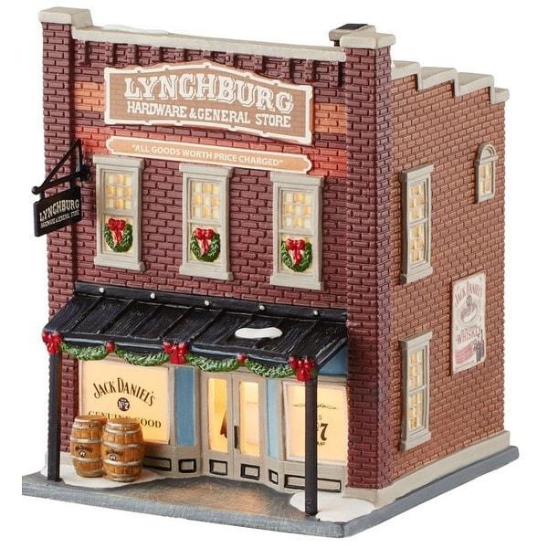 Department 56 4050948 Lynchburg Hardware & General Porcelain Village House