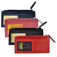 Sheep Card Case W/ Tz  Pocket