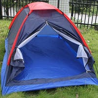 Image Camping Tent 2 Person Tent Folding Waterproof Single Layer Outdoor Tent