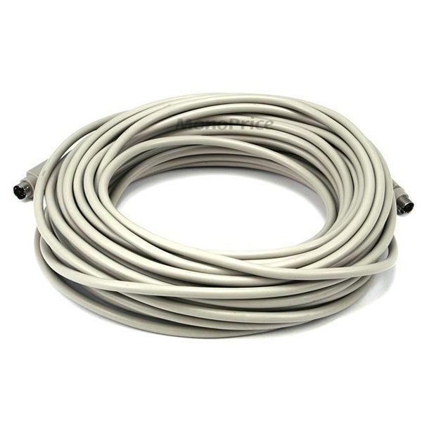 Monoprice 50ft PS/2 MDIN-6 Male to Male Cable