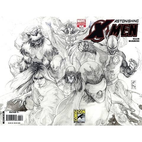 Sdcc 2008 Astonishing X-Men #25 Sketch Variant - Multi