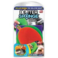 Better Sponge 1734 As Seen On TV Silicone Sponge, Assorted Colors