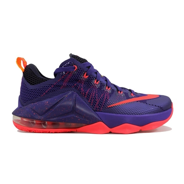 sale retailer 52353 7d7f1 ... new arrivals nike menx27s lebron xii 12 low court purple bright crimson  b700c ba4f3