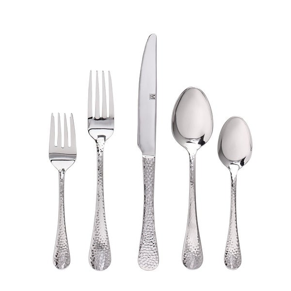 """Flatware Stainless Steel 60PC Set Chicago - 9"""" x 0'5"""". Opens flyout."""