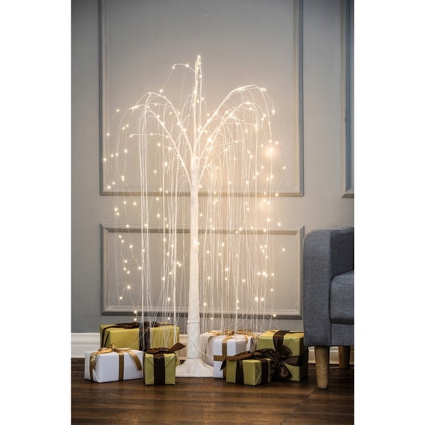 Willow LED Lighted Tree. Opens flyout.