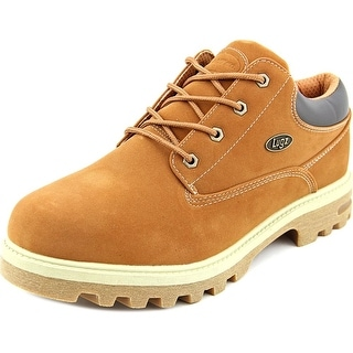 Lugz Empire Lo Men Round Toe Synthetic Brown Work Boot