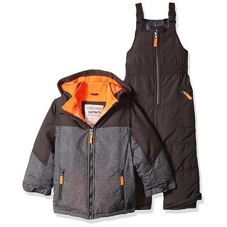 Carters Boys 12-24 Months Pieced Jacket Snowsuit