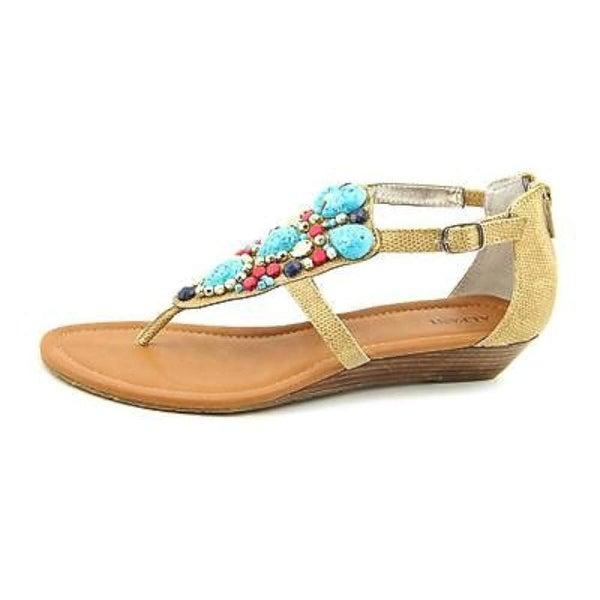 Alfani Womens Lorena Open Toe Casual Ankle Strap Sandals - 8
