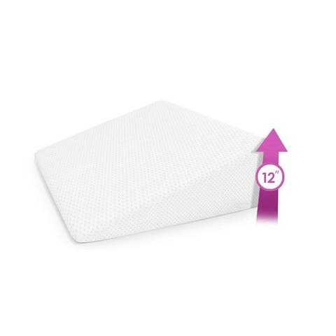 Home Sweet Home Bed Wedge Pillow with Memory Foam Top