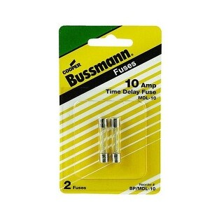 Bussmann BP/MDL-10 Time Delay Fuse, 10 Amp