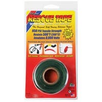 "Rescue Tape RT1000201207USC Silicone Tape, 1"" X 12', Green"