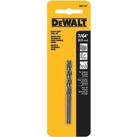 """DeWalt 7/64"""" Black Oxide Bit"""