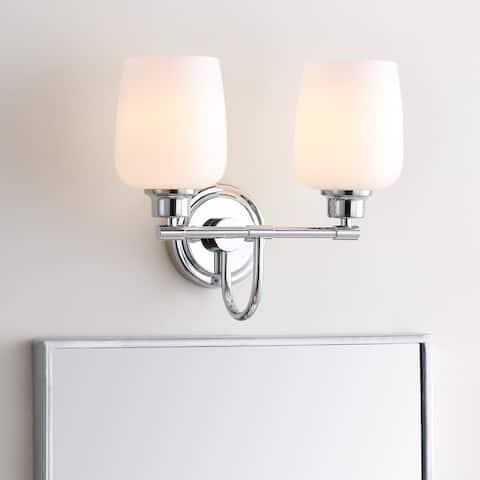 "Safavieh Lighting Rayden 2-light LED Bathroom Sconce - 13.3""x7.5""x12"""
