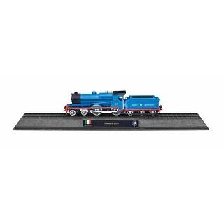 UK British Train N-Scale Model Replica - Class V Steam Locomotive - Blue