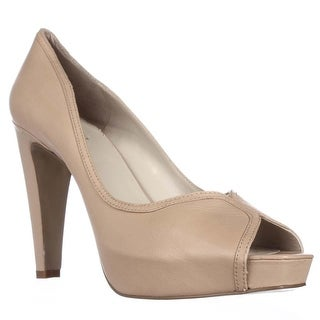 Nine West Just Joshin Platform Pumps, Natural