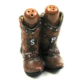 Cowboy Boot Salt and Pepper Set
