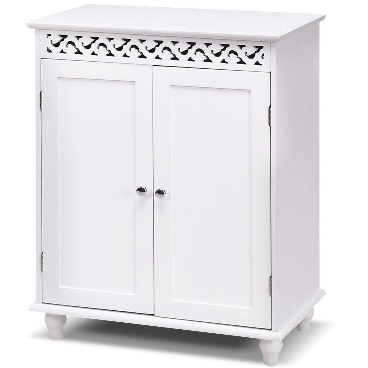 buy white bathroom cabinets storage online at overstock our best rh overstock com small white storage cabinet for kitchen small white storage cabinet for kitchen
