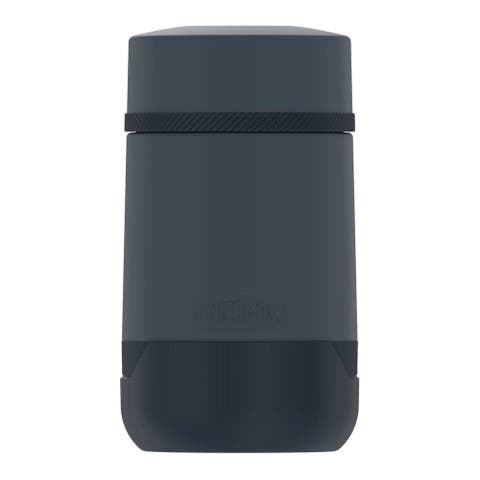 """Thermos Guardian Collection 18oz Stainless Steel Food Jar (Dark Blue) - 4"""" x 4"""" x 7.1"""""""